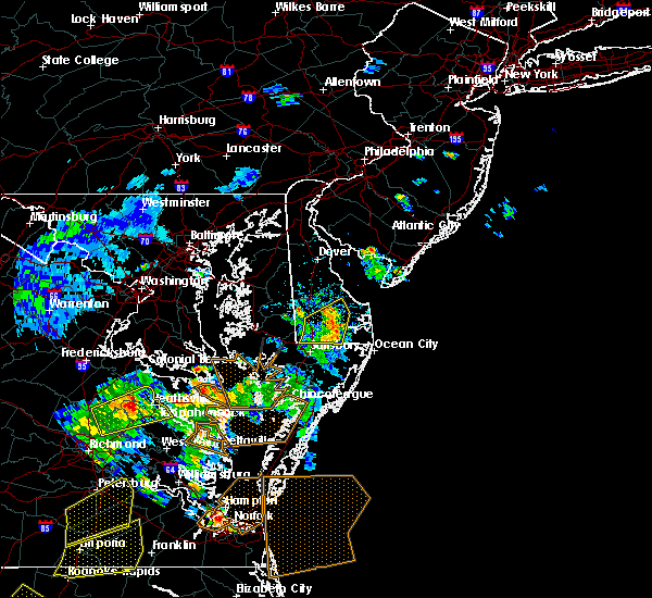 Radar Image for Severe Thunderstorms near Laurel, DE at 6/5/2019 4:59 PM EDT