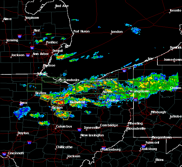 Radar Image for Severe Thunderstorms near New Riegel, OH at 6/5/2019 5:00 PM EDT