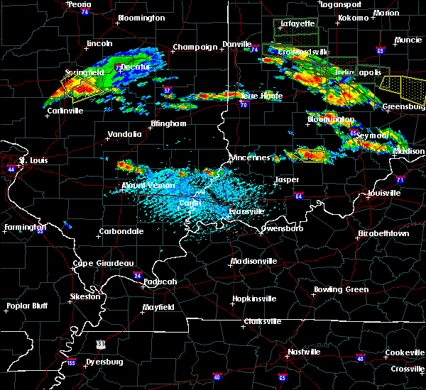 Radar Image for Severe Thunderstorms near Allendale, IL at 6/5/2019 4:18 PM CDT
