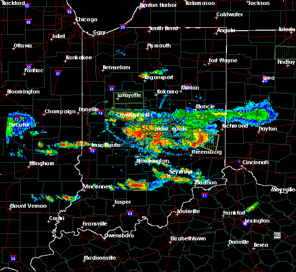 Radar Image for Severe Thunderstorms near Brookville, IN at 6/5/2019 5:18 PM EDT