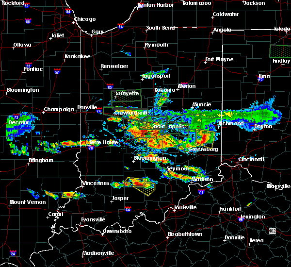 Radar Image for Severe Thunderstorms near Brookville, IN at 6/5/2019 5:26 PM EDT