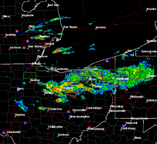 Radar Image for Severe Thunderstorms near Lucas, OH at 6/5/2019 5:26 PM EDT