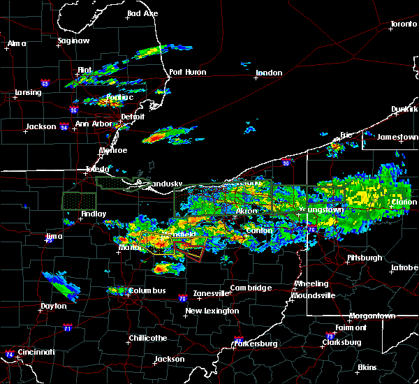 Radar Image for Severe Thunderstorms near Howard, OH at 6/5/2019 5:30 PM EDT