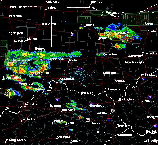 Radar Image for Severe Thunderstorms near Seven Mile, OH at 6/5/2019 5:31 PM EDT