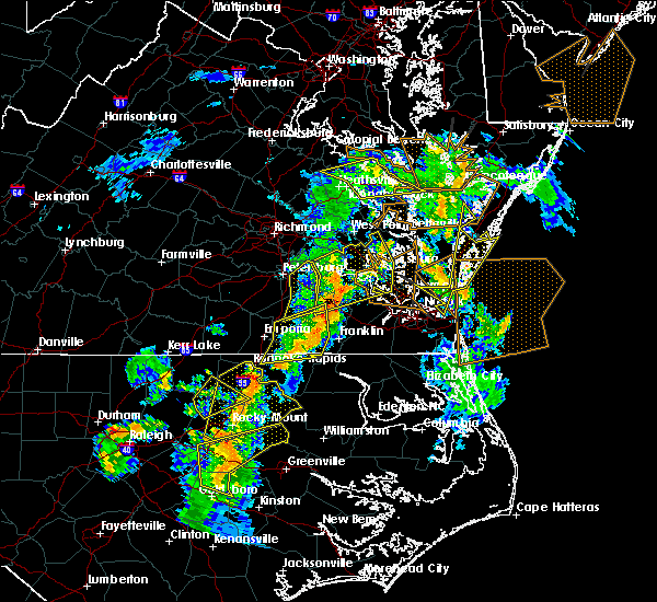 Radar Image for Severe Thunderstorms near Windsor, VA at 6/5/2019 5:34 PM EDT