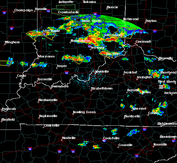 Radar Image for Severe Thunderstorms near Milton, KY at 6/5/2019 5:52 PM EDT