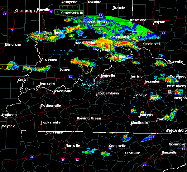 Radar Image for Severe Thunderstorms near Milton, KY at 6/5/2019 6:06 PM EDT