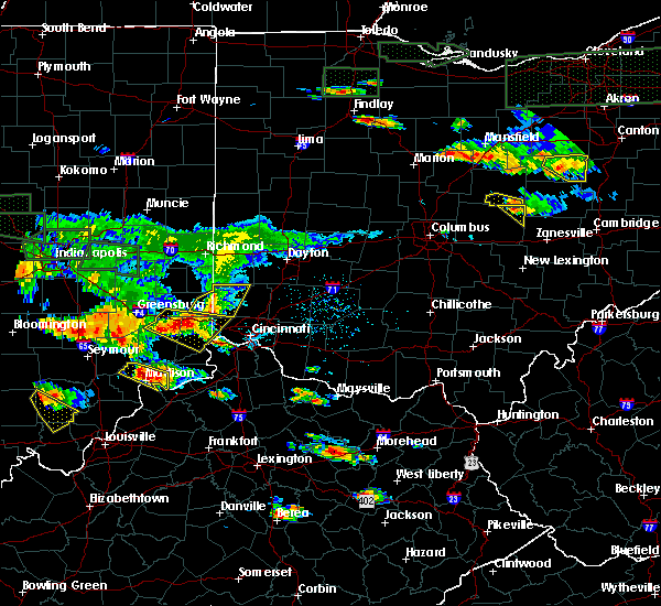 Radar Image for Severe Thunderstorms near Lawrenceburg, IN at 6/5/2019 6:06 PM EDT