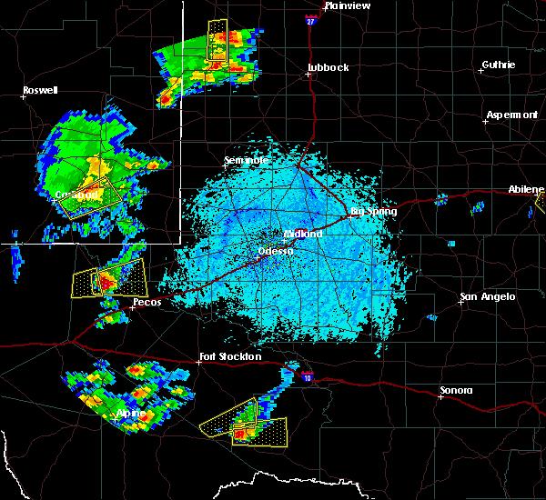Radar Image for Severe Thunderstorms near Mentone, TX at 6/5/2019 5:15 PM CDT