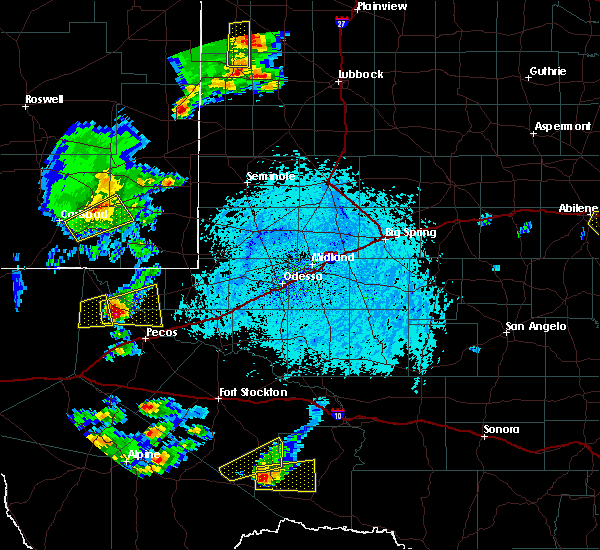 Radar Image for Severe Thunderstorms near Sanderson, TX at 6/5/2019 5:16 PM CDT