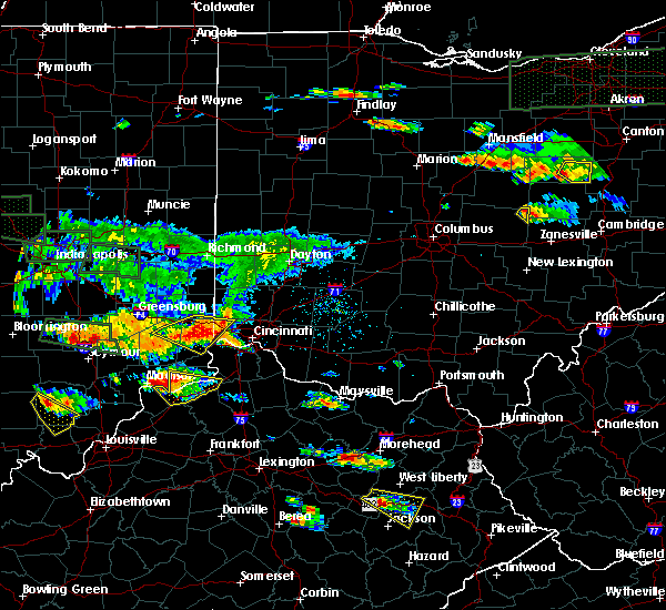 Radar Image for Severe Thunderstorms near Dunlap, OH at 6/5/2019 6:22 PM EDT