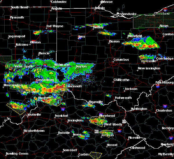 Radar Image for Severe Thunderstorms near Cincinnati, OH at 6/5/2019 6:51 PM EDT