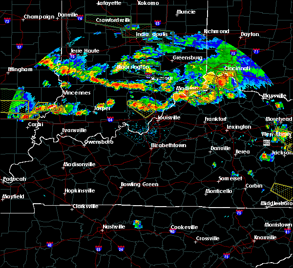 Radar Image for Severe Thunderstorms near Ghent, KY at 6/5/2019 7:12 PM EDT