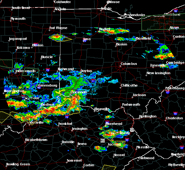 Radar Image for Severe Thunderstorms near Augusta, OH at 6/5/2019 7:28 PM EDT