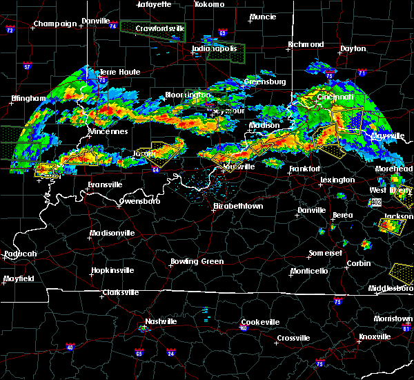 Radar Image for Severe Thunderstorms near Campbellsburg, KY at 6/5/2019 7:37 PM EDT