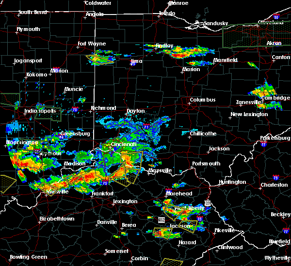 Radar Image for Severe Thunderstorms near Augusta, OH at 6/5/2019 7:42 PM EDT