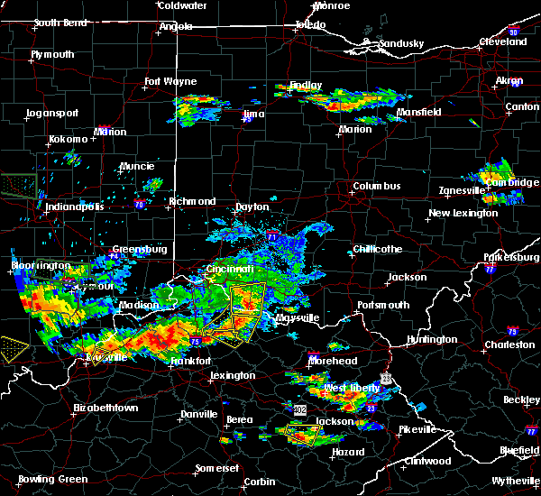 Radar Image for Severe Thunderstorms near Augusta, OH at 6/5/2019 7:53 PM EDT