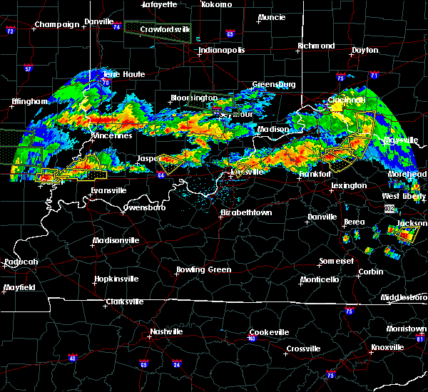Radar Image for Severe Thunderstorms near Utica, KY at 6/5/2019 7:54 PM EDT
