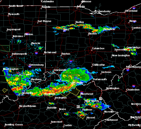 Radar Image for Severe Thunderstorms near Aberdeen, OH at 6/5/2019 8:24 PM EDT