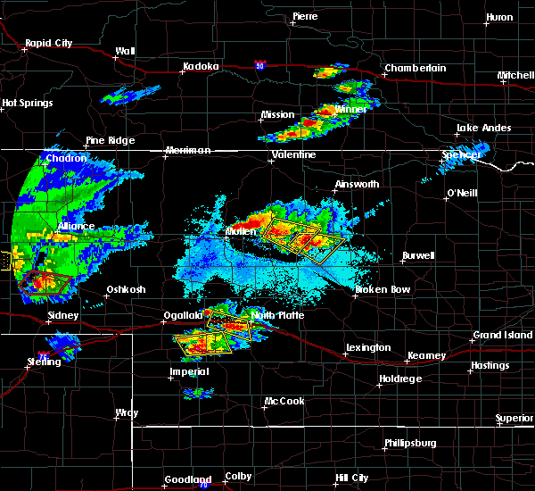 Radar Image for Severe Thunderstorms near Wallace, NE at 6/16/2015 8:15 PM CDT