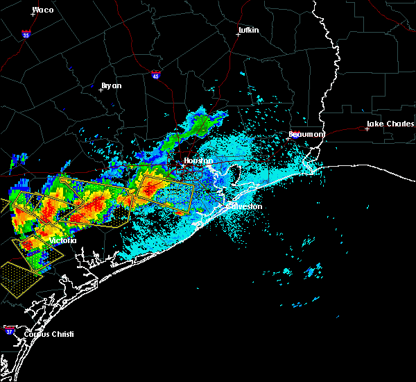Radar Image for Severe Thunderstorms near El Campo, TX at 6/6/2019 6:38 PM CDT