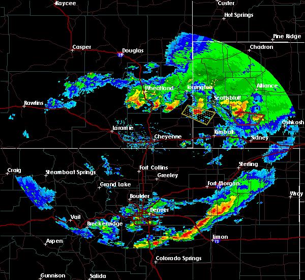 Radar Image for Severe Thunderstorms near Harrisburg, NE at 6/16/2015 7:35 PM MDT