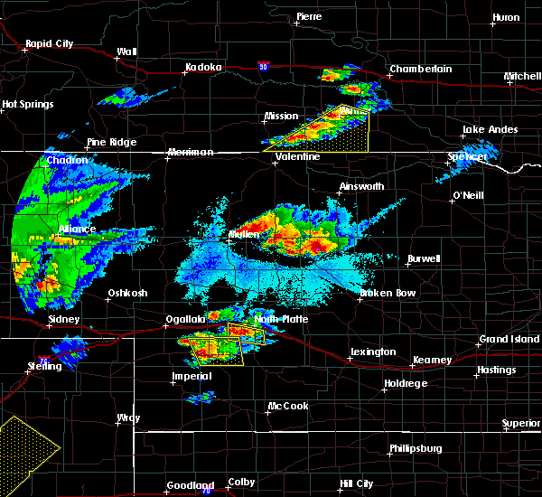 Radar Image for Severe Thunderstorms near Wallace, NE at 6/16/2015 8:37 PM CDT