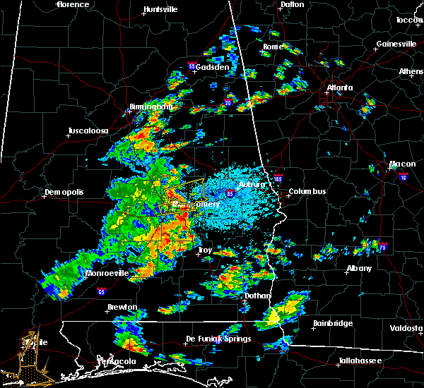 Radar Image for Severe Thunderstorms near Pike Road, AL at 6/7/2019 1:09 PM CDT