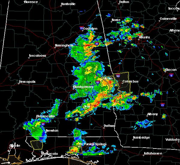 Radar Image for Severe Thunderstorms near Shiloh, GA at 6/7/2019 3:15 PM EDT