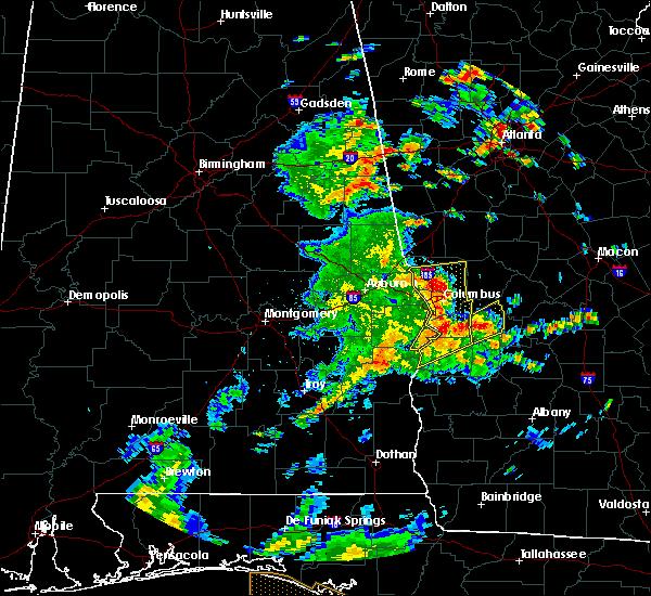 Radar Image for Severe Thunderstorms near Columbus, GA at 6/7/2019 2:40 PM CDT