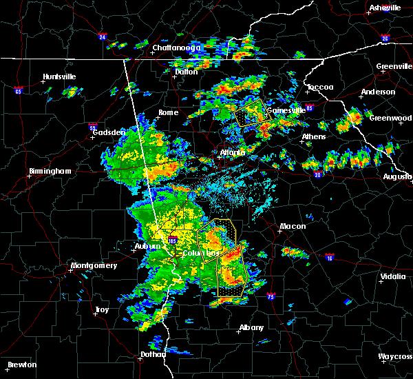 Radar Image for Severe Thunderstorms near Salem, GA at 6/7/2019 4:28 PM EDT