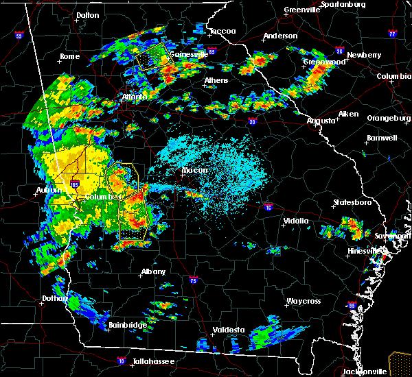 Radar Image for Severe Thunderstorms near Roberta, GA at 6/7/2019 4:31 PM EDT