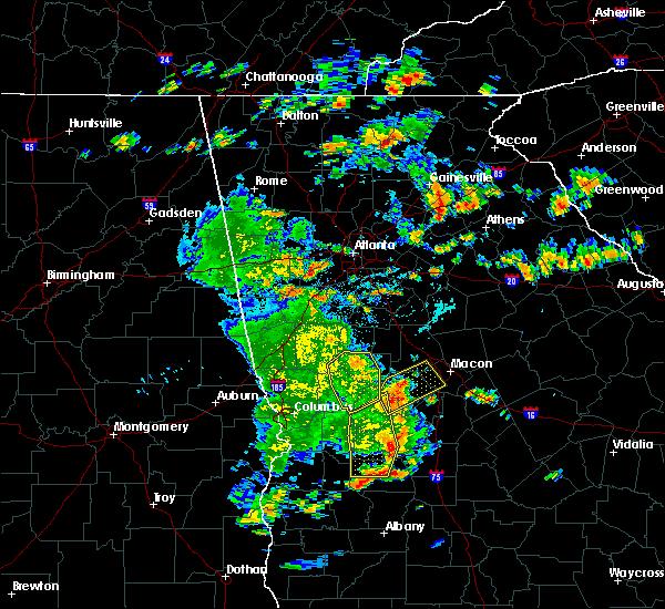 Radar Image for Severe Thunderstorms near Salem, GA at 6/7/2019 4:42 PM EDT