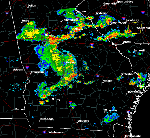 Radar Image for Severe Thunderstorms near Unadilla, GA at 6/7/2019 5:40 PM EDT