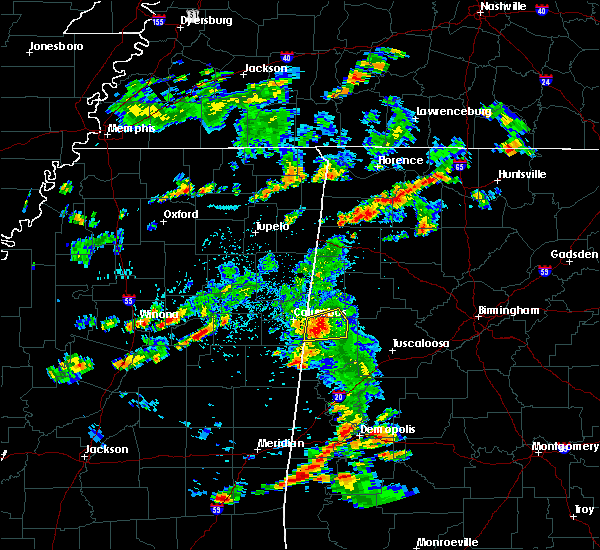 Radar Image for Severe Thunderstorms near Millport, AL at 6/7/2019 5:45 PM CDT