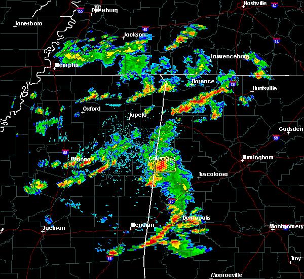 Radar Image for Severe Thunderstorms near Ethelsville, AL at 6/7/2019 5:45 PM CDT