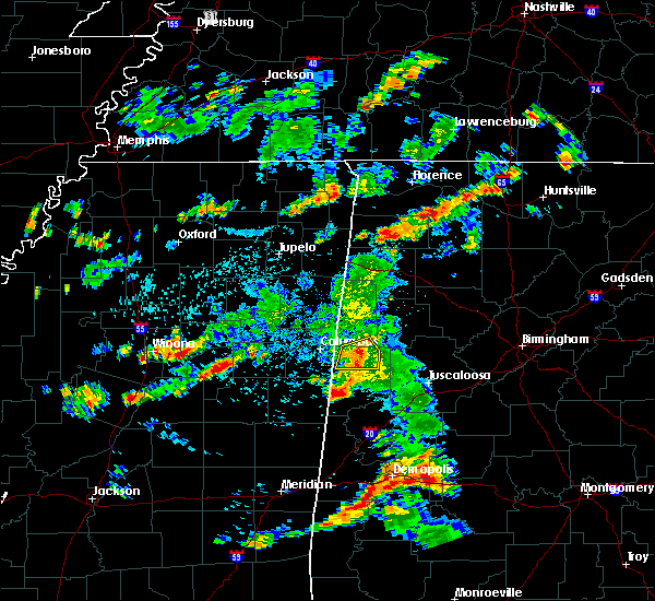 Radar Image for Severe Thunderstorms near Ethelsville, AL at 6/7/2019 5:56 PM CDT