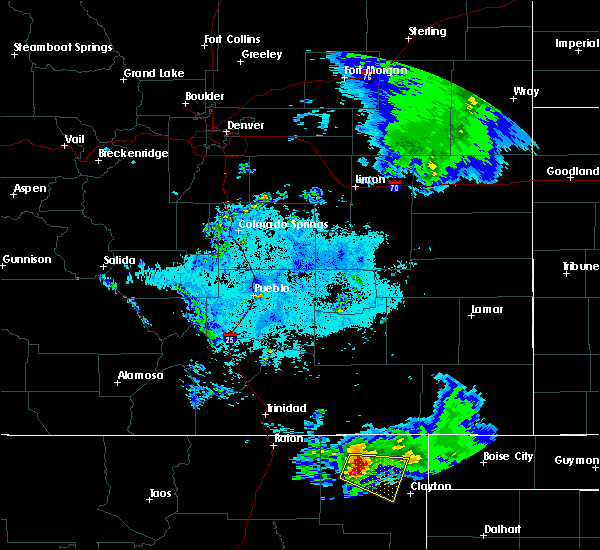 Radar Image for Severe Thunderstorms near Grenville, NM at 6/7/2019 9:21 PM MDT