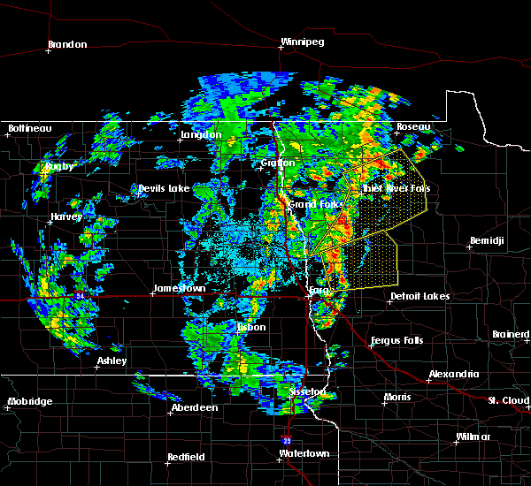 Radar Image for Severe Thunderstorms near Thief River Falls, MN at 6/8/2019 3:02 PM CDT