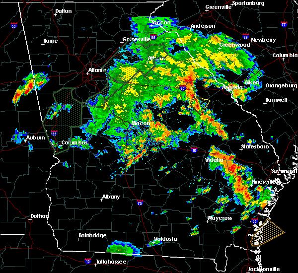 Radar Image for Severe Thunderstorms near Stapleton, GA at 6/8/2019 6:39 PM EDT