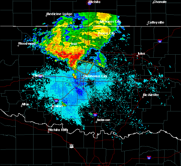 Radar Image for Severe Thunderstorms near Arcadia, OK at 6/9/2019 7:40 AM CDT