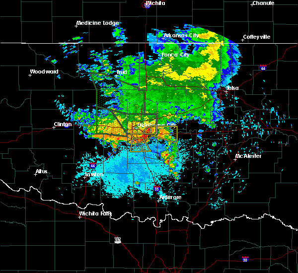 Radar Image for Severe Thunderstorms near Midwest City, OK at 6/9/2019 9:05 AM CDT