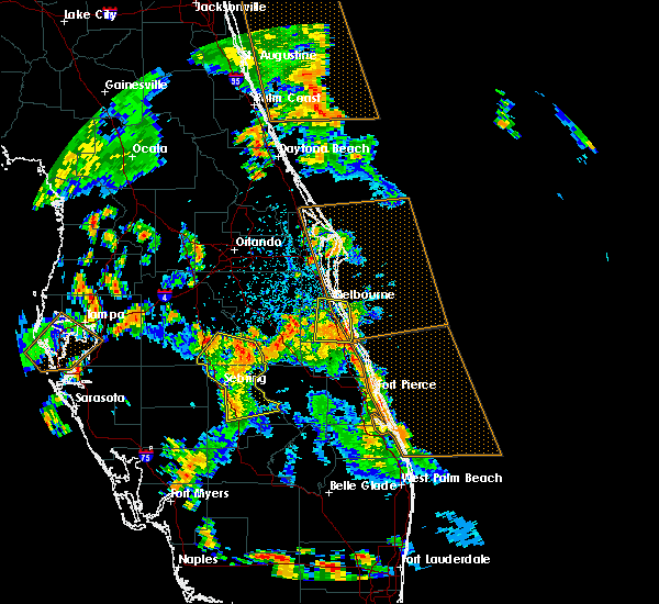 Radar Image for Severe Thunderstorms near Malabar, FL at 6/9/2019 2:02 PM EDT