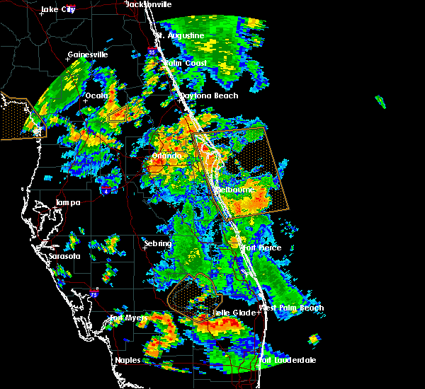 Radar Image for Severe Thunderstorms near Azalea Park, FL at 6/9/2019 3:21 PM EDT
