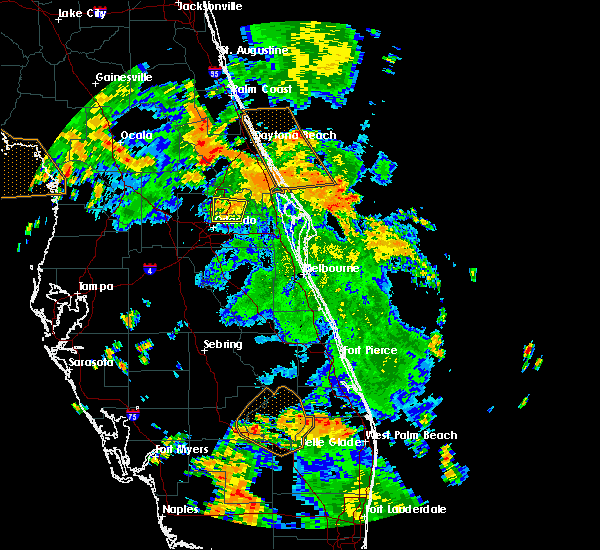 Radar Image for Severe Thunderstorms near Azalea Park, FL at 6/9/2019 3:54 PM EDT