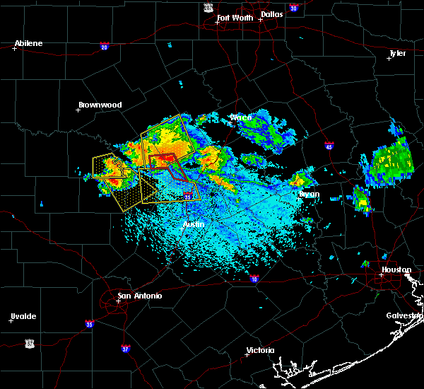 Radar Image for Severe Thunderstorms near Copperas Cove, TX at 6/9/2019 5:36 PM CDT
