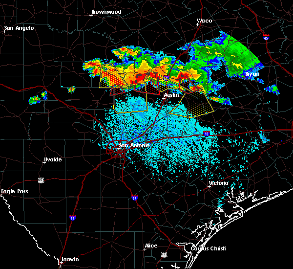 Radar Image for Severe Thunderstorms near Briarcliff, TX at 6/9/2019 6:48 PM CDT