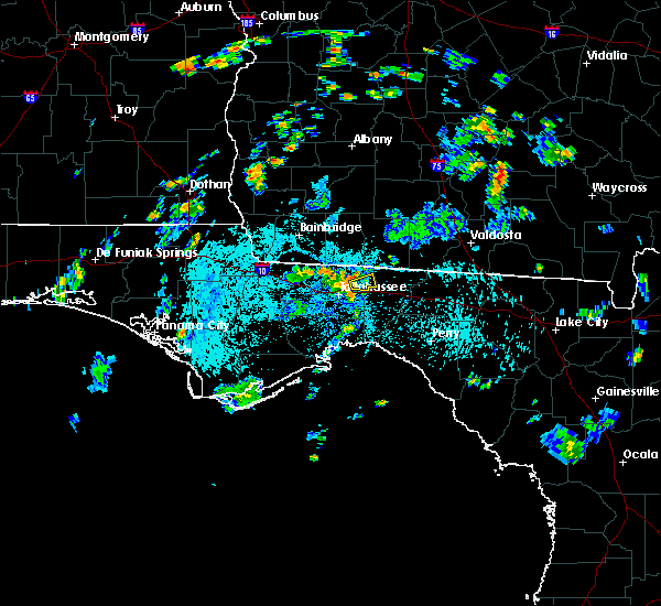 Radar Image for Severe Thunderstorms near Tallahassee, FL at 6/10/2019 5:19 PM EDT