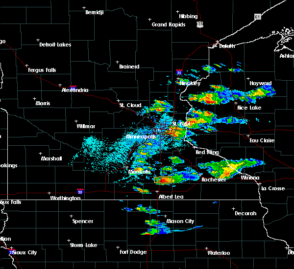 Radar Image for Severe Thunderstorms near Hollandale, MN at 6/17/2015 3:25 PM CDT
