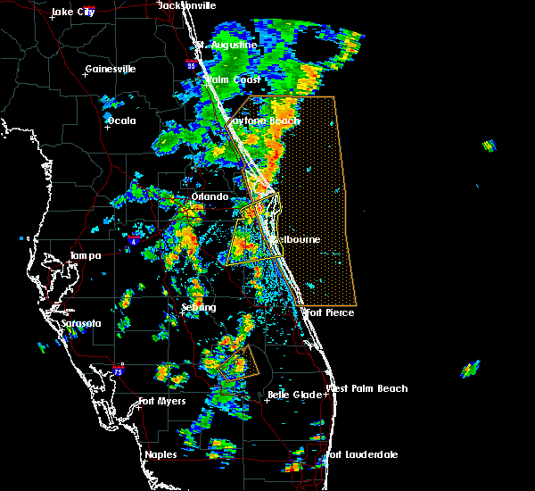 Radar Image for Severe Thunderstorms near Cocoa West, FL at 6/12/2019 3:04 PM EDT